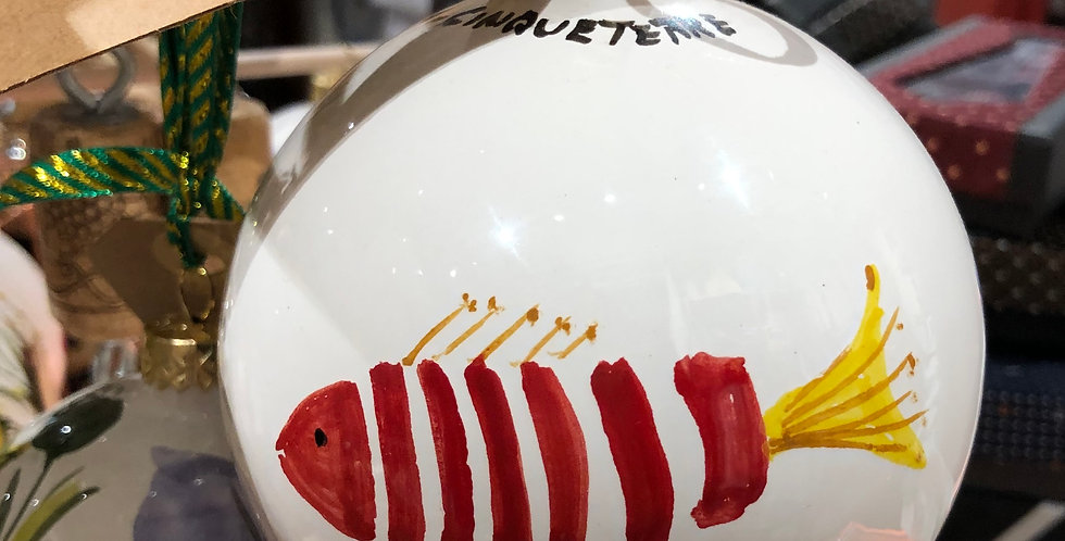 Pesce Christmas Ornament