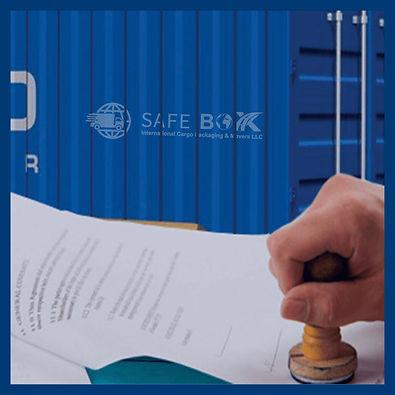Safe-box-International-Custom-Brokerage.