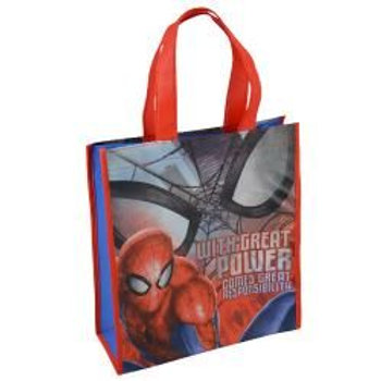 Spiderman Medium Non Woven Tote Bag with Hangtag