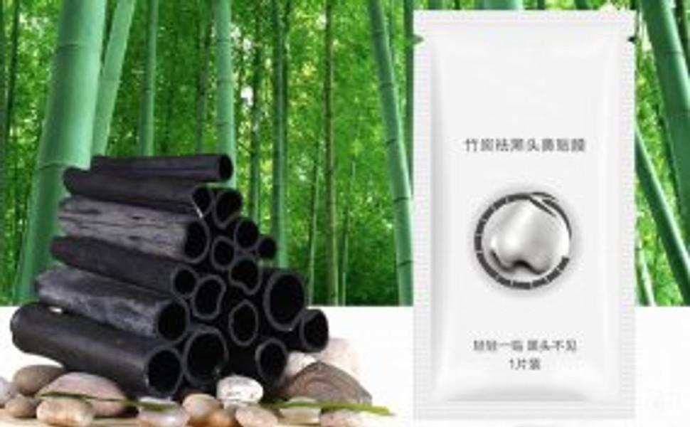 Masque pour le nez au charbon de bambou