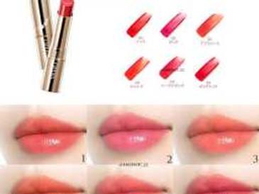 Rouge et soin des lèvres : les tubes de l'année made in Japan