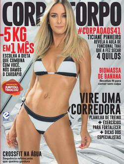 Revista Corpo a Corpo - capa