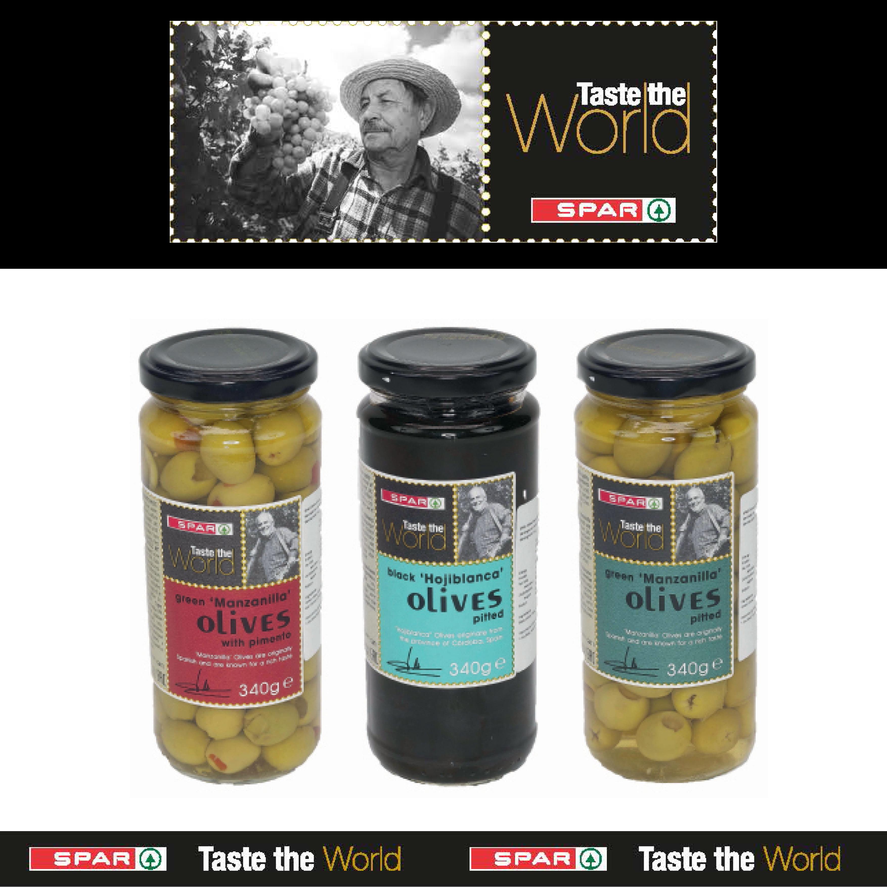 SPAR Taste The World Olives