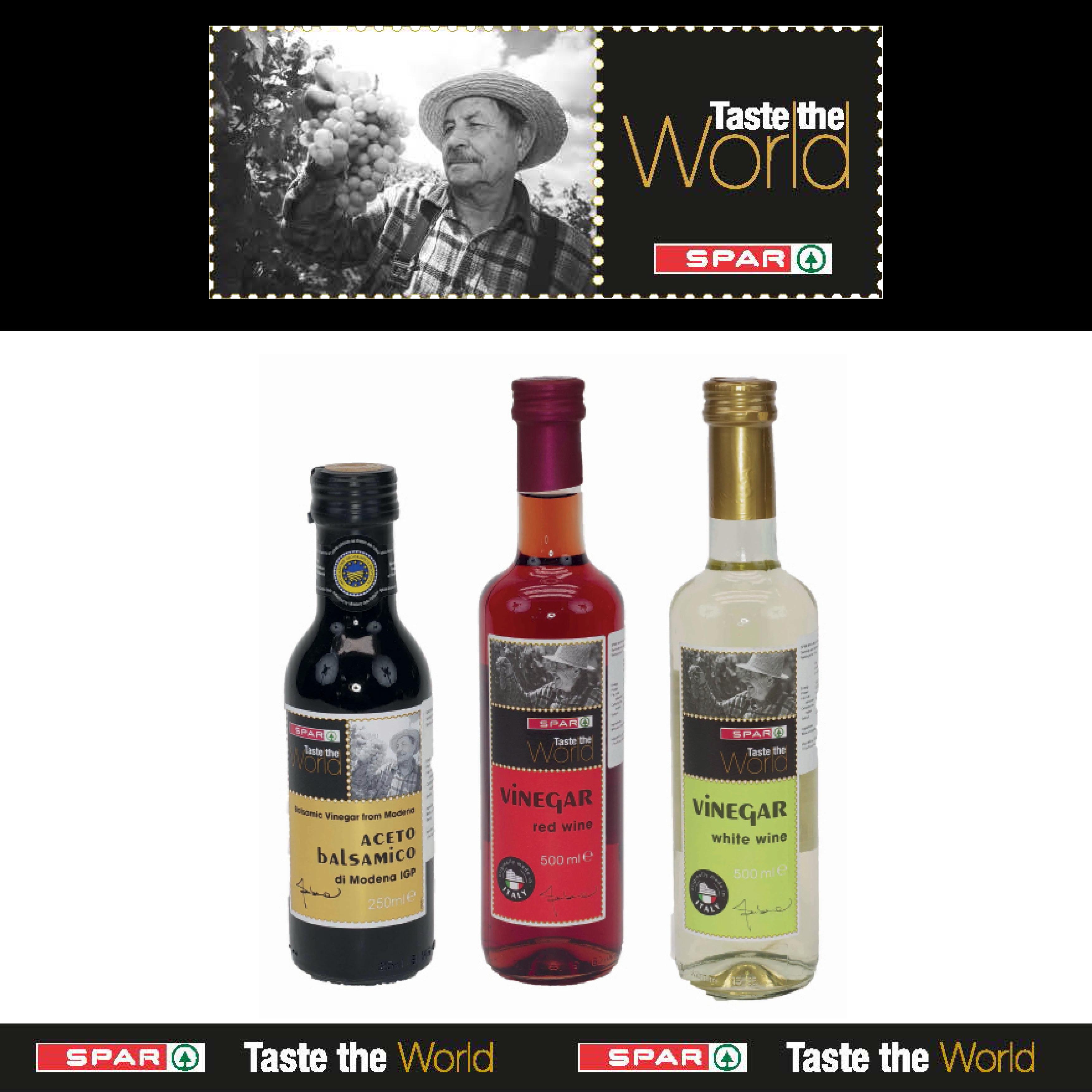SPAR Taste The World Vinegar