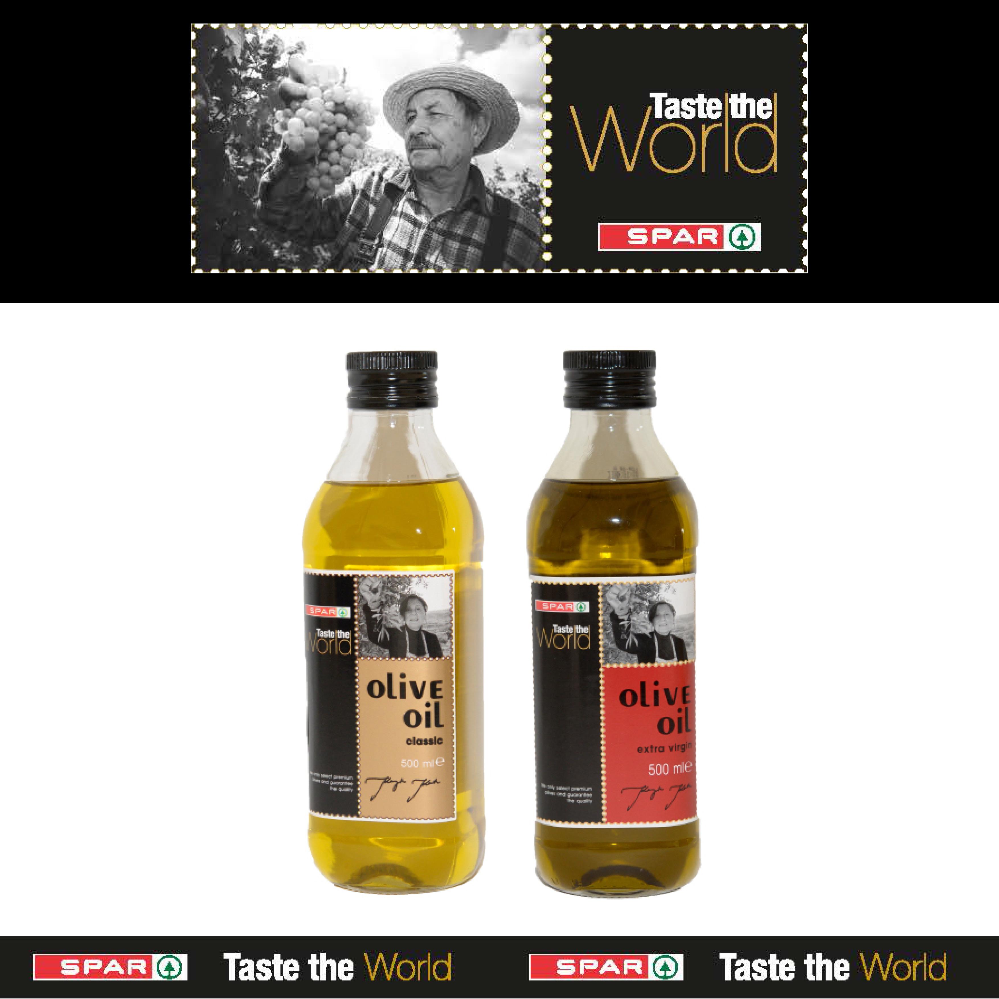 SPAR Taste The World Olive Oils