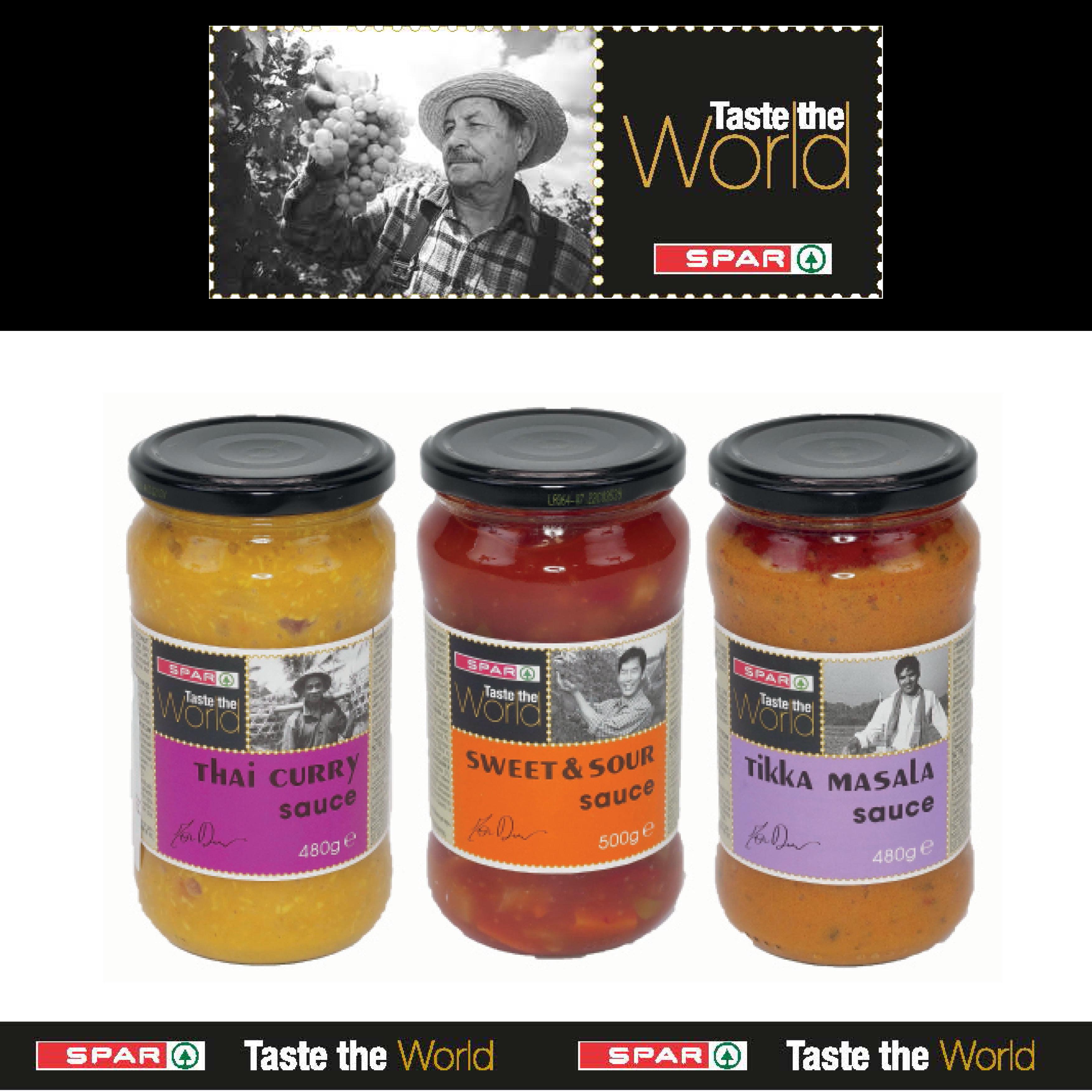 SPAR Taste The World - Sauces