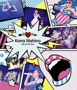 西野カナ「with LOVE tour 2015」