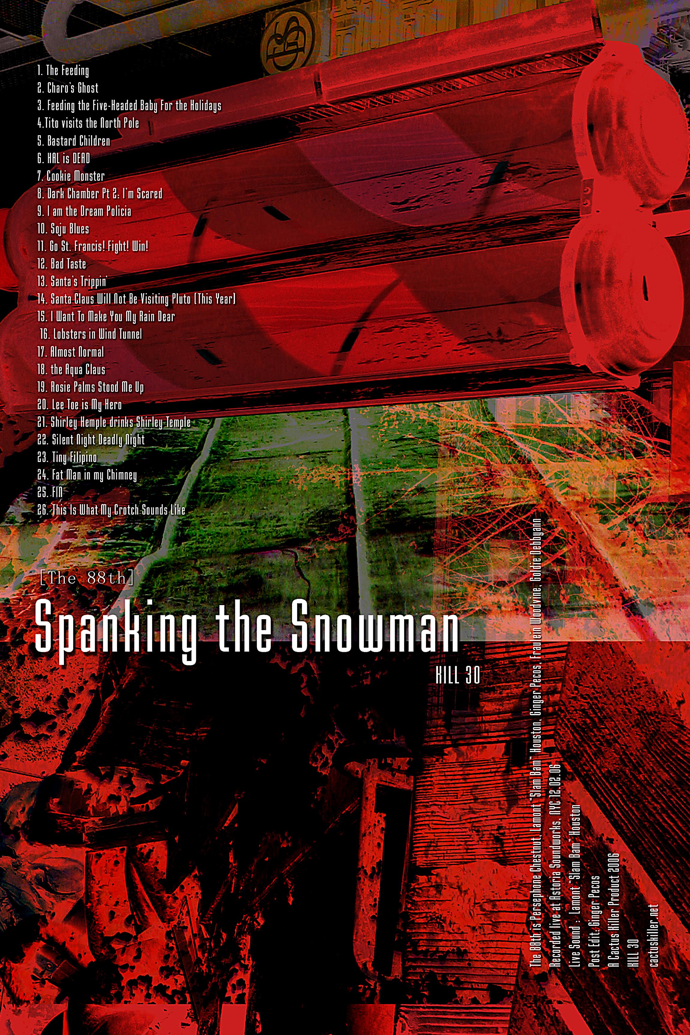 """Spanking the Snowman"""
