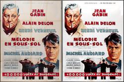 MELODIE EN SOUS-SOL poster restored