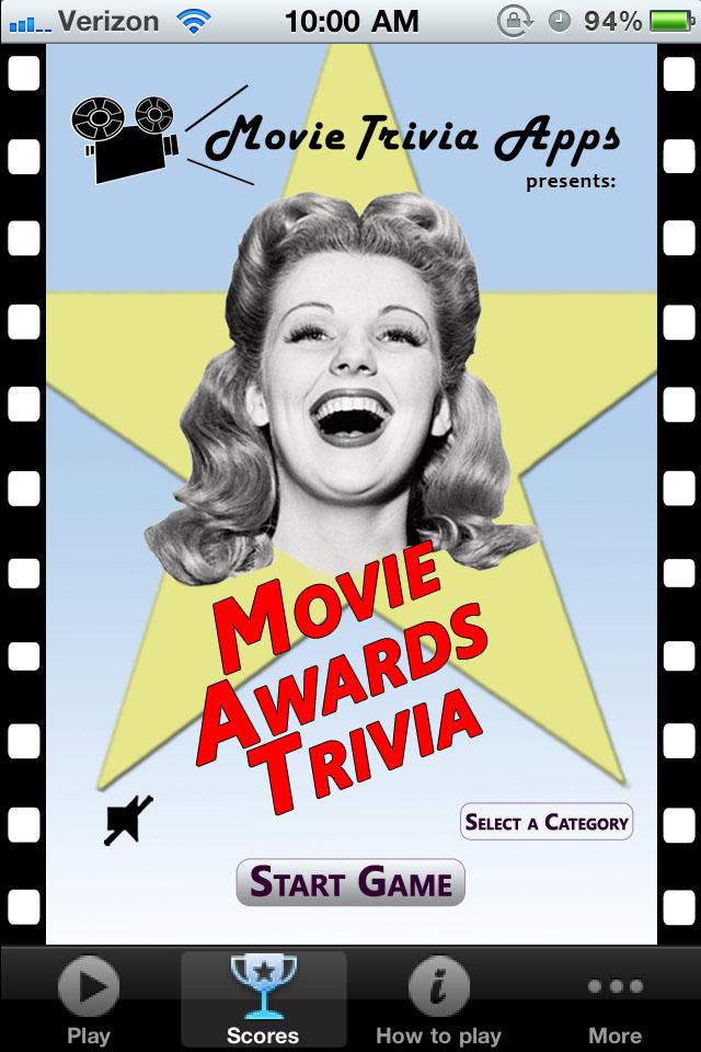 """""""Movie Awards Trivia"""""""