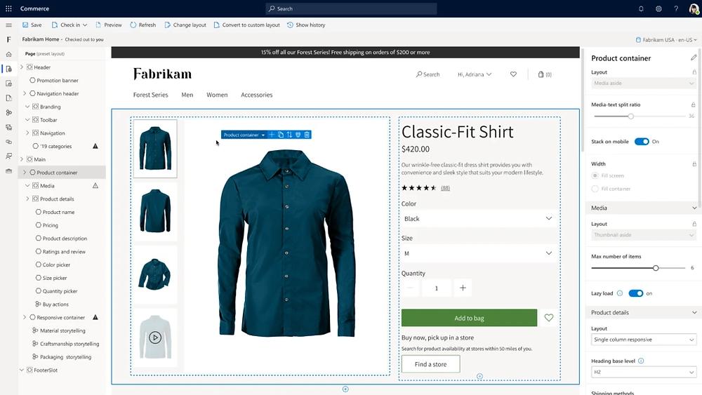 Personalisasi Website dengan Microsoft Dynamics 365 Retail