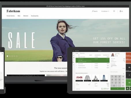 "Memberikan pengalaman ritel yang lebih cerdas dan serba terhubung dengan ""Dynamics 365 Commerce"""