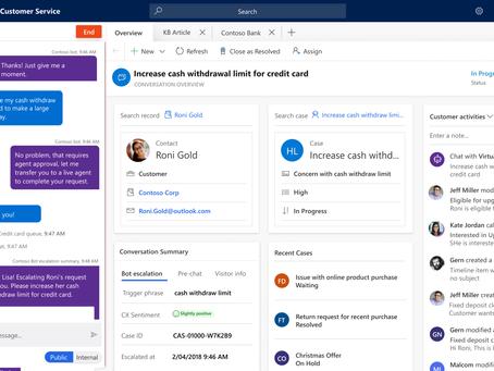 Digital messaging baru untuk meningkatkan fitur omnichannel di Microsoft Dynamics Customer Service