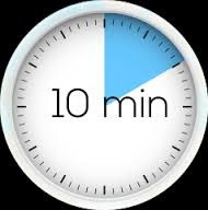 Learning is…10 minutes long