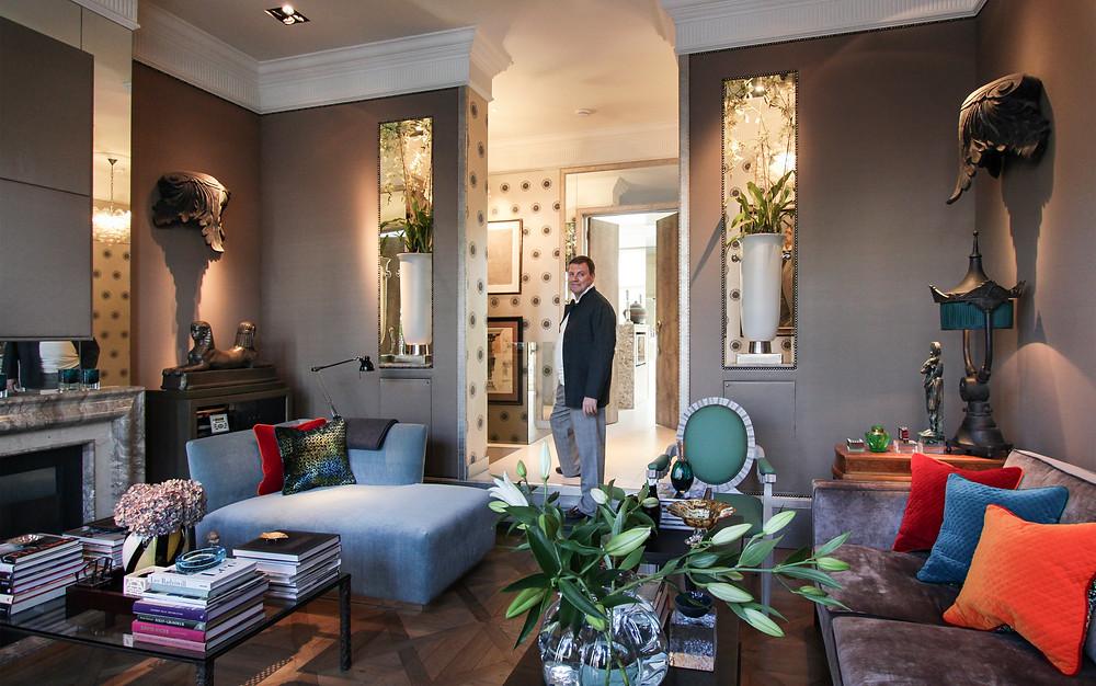 Interior Designer London Stephen Ryan, Interior Design, Luxury Interior Designer