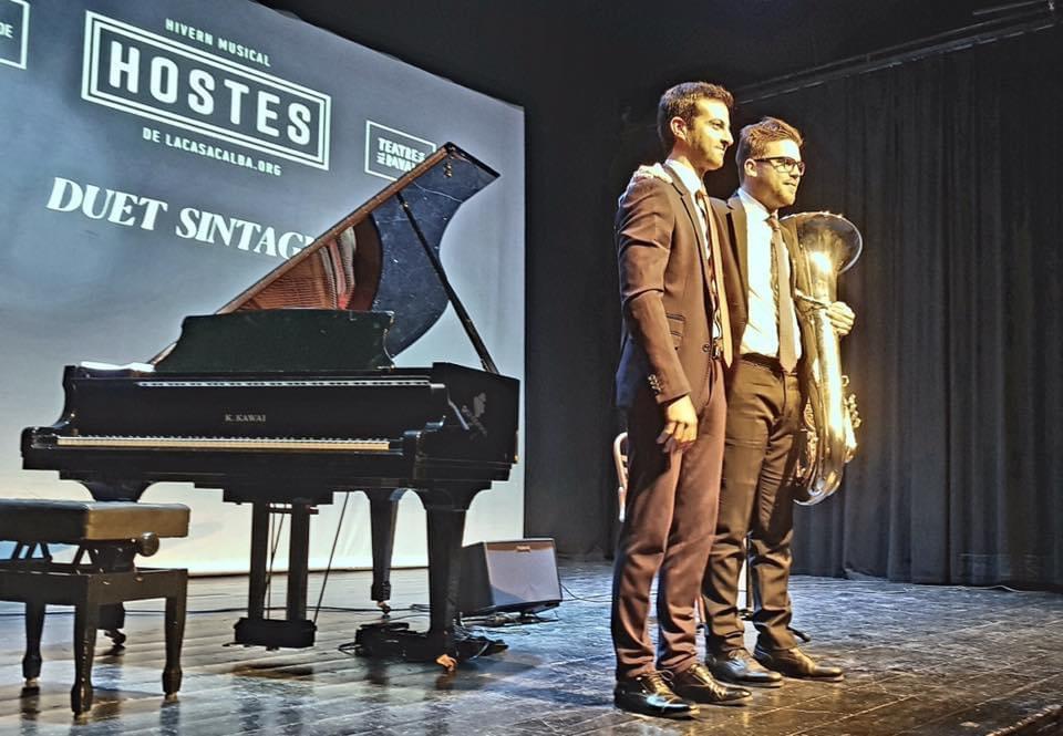 Presentación Winterreise en Teatre Raval Gandia