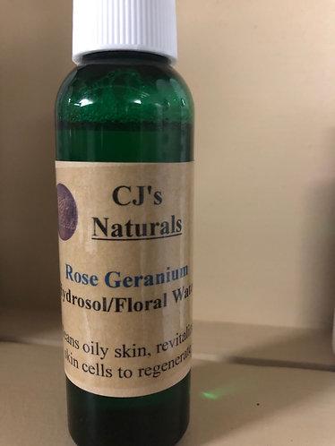 Rose Geranium Floral Water