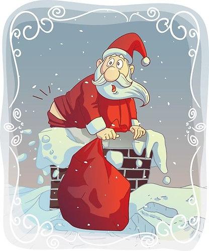 Santa's Delight Candle