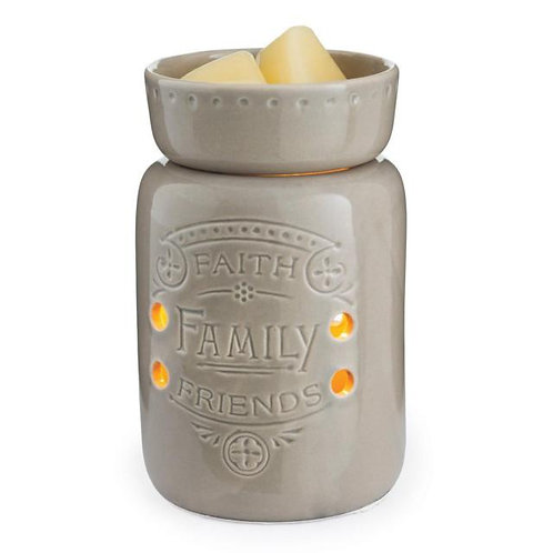 Faith, Family, Friends Tart Warmer