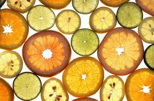 Natural Citrus Fantasy Tarts