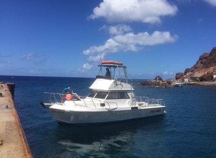 Sea Saba Dive Boat
