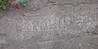 July 19th, 1938 Erroll (Hassell)  put his name in concrete on one of the walls coming up from the Fort Bay. He was the man who as local councillor was able to get funding to build the road from the Fort Bay to The Bottom.