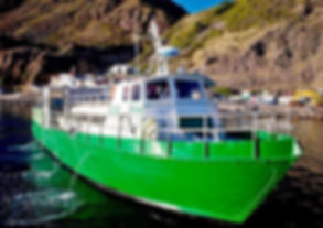 The Dawn II Ferry service runs between Saba & St. Maarten three times a week.