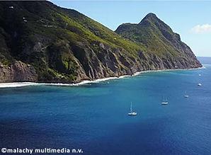 Wells Bay Moorings Saba - Image by malachy multimedia n.v.