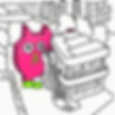 #takehiroiikawa #pinkcat #sketchbook #qu
