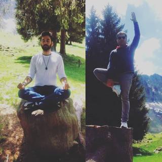 Les retraites / stages de Yoga à la montagne
