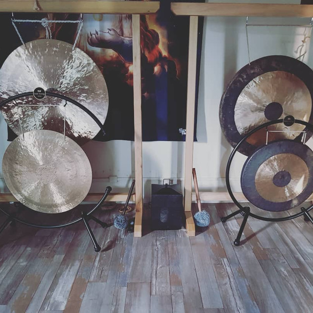 Les 4 Gongs Solaires & Lunaires