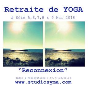 La retraite de Yoga à Sète