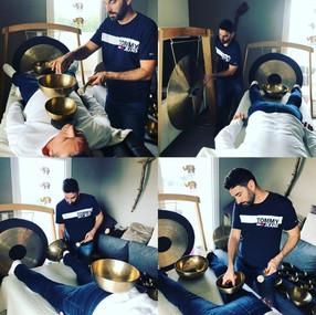 Séance Massage Sonore aux Bols Tibétains & aux Gongs
