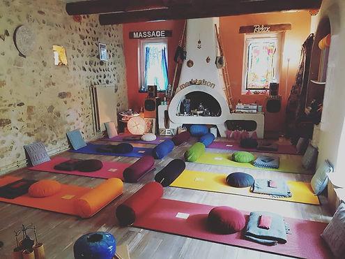 studio syma les granges gontardes 26 drome provencale rhone alpes son yoga massage accompagnement