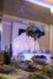Оформление зала для свадьбы в Room Cafe