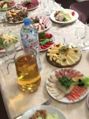 Банкетный стол_видео