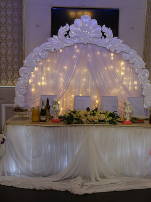 Оформление свадьбы в Room Cafe