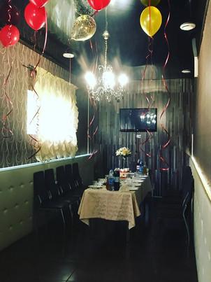 День рождения в караоке зале