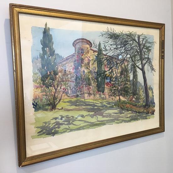 Watercolour by Salomon Alfred Boisecq - SOLD