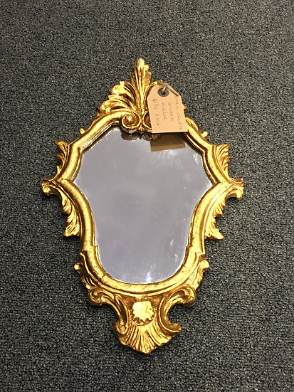 Small Gilded Mirror (1 of 3) - SOLD
