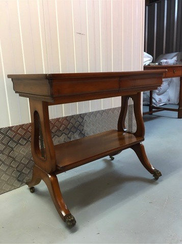 Side or Hallway Table on Caster Wheels - SOLD