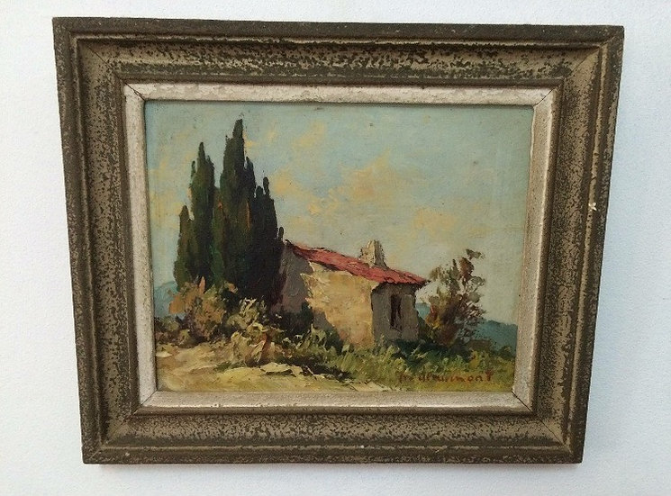 Provençal Painting by P. Deaumont - SOLD