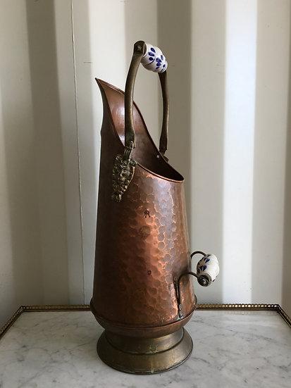 Copper Coal Bucket - SOLD