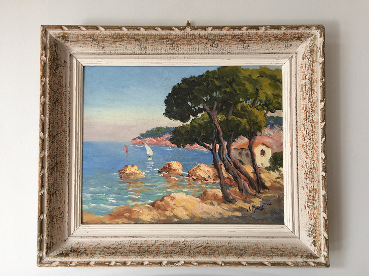 Provençal Painting by Jean Rougier - SOLD
