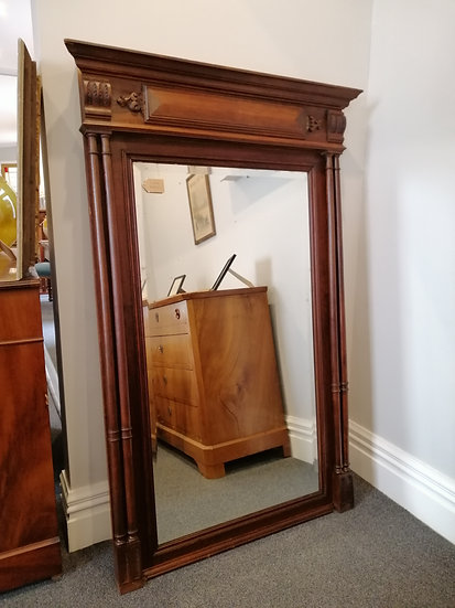 French Trumeau Mirror - SOLD
