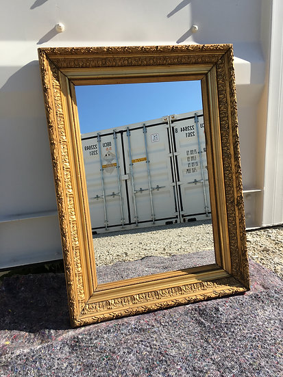 19th Century Rectangular Mirror - Medium Size