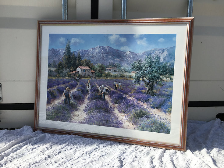 Painting - Lavender Field - SOLD