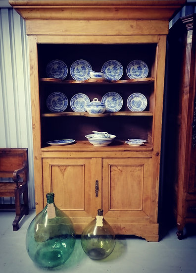 Bordeaux Buffet With Display Shelves