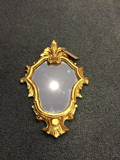 Small Gilded Mirror (3 of 3) - SOLD
