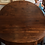 Thumbnail: Half-Moon to Round Walnut Dining Table - SOLD